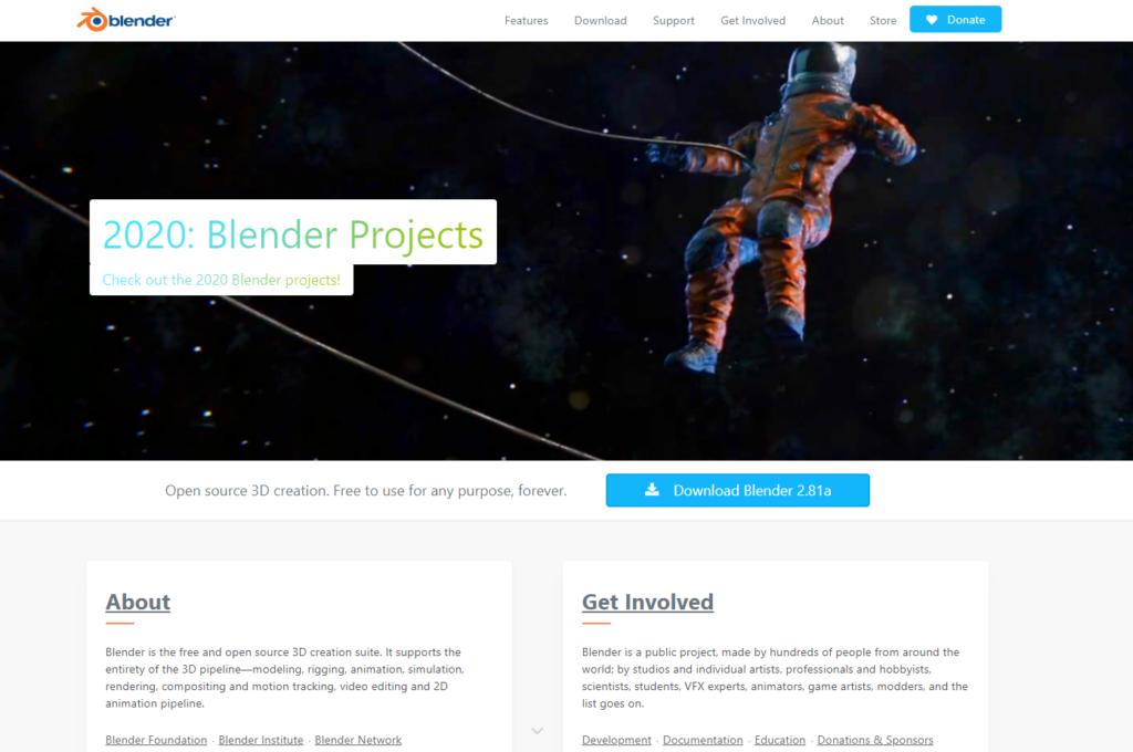 Первые шаги в изучении Blender 2.8+