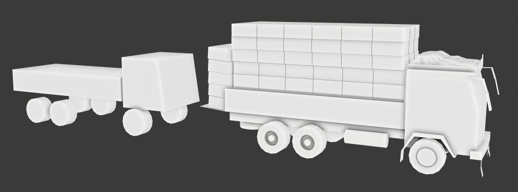 Блокаут грузовика